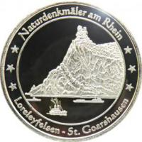 Foto 21 Medaillen mit Rheinmotiven