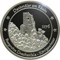 Foto 22 Medaillen mit Rheinmotiven
