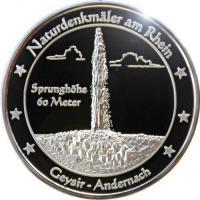Foto 23 Medaillen mit Rheinmotiven