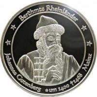 Foto 26 Medaillen mit Rheinmotiven