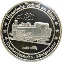 Foto 27 Medaillen mit Rheinmotiven