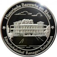 Foto 28 Medaillen mit Rheinmotiven
