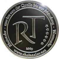 Foto 30 Medaillen mit Rheinmotiven