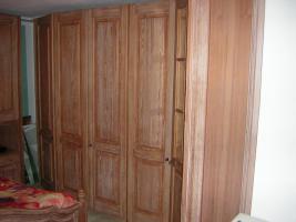 Foto 4 Mediterranes Schlafzimmer komplett - Pinie gebürstet massiv