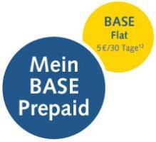 Mein BASE Prepaid 5 Euro/30 Tage zu E-Plus, Base telefonieren