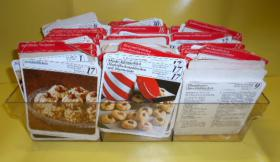 Meisterkoch Rezeptkarten mehrere hundert in einer Plastikbox