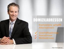 Meldeadresse mieten in Deutschland PSD Business
