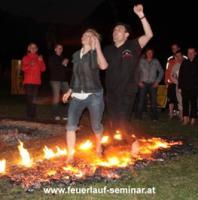 Mentaltraining mit Feuerlauf
