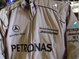 Mercedes-Petronas-Schumi. Racingjacken in Topqualität
