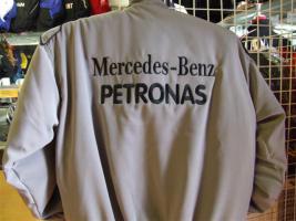 Foto 2 Mercedes-Petronas-Schumi. Racingjacken in Topqualität