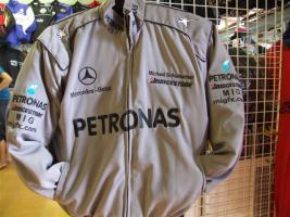 Foto 3 Mercedes-Petronas-Schumi. Racingjacken in Topqualität