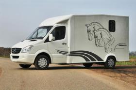 Mercedes Sprinter Pferde transporter