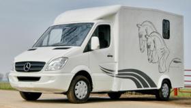 Foto 2 Mercedes Sprinter Pferde transporter