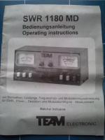 Foto 2 Messgerät SWR 1180 MD für CB Amateurfunk Kurzwelle