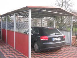 metallcarport metalltreppen metallzaune tore zaun aus polen in ahrensfelde. Black Bedroom Furniture Sets. Home Design Ideas