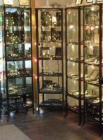 Metallrahmen /Glas Vitrinen