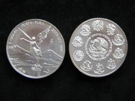 Mexiko Siegesgöttin Libertad 2009 1 Unze Fein Silber