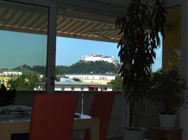 Mietwohnung Sbg-Herrnau - einmaliger Festungsblick