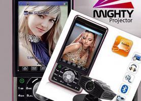 MightyStar Dual Sim Handy. Der Kracher. Mit Projektor.