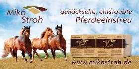 Mik� Stroh - die g�nstige Pferdeeinstreu