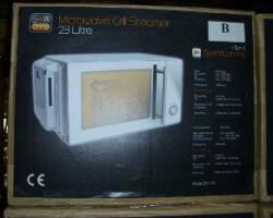 Mikrowellen mit Dampfkochen