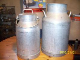Milchkannen Molkereigröße