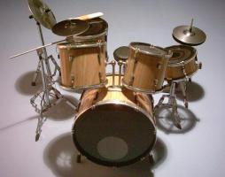 Mini Drum Kit naturel