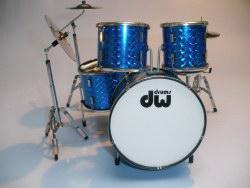 Mini Drum kit – DW (blue)