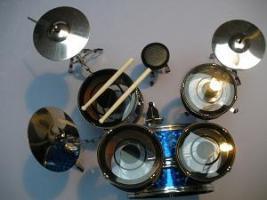 Foto 2 Mini Drum kit – DW (blue)