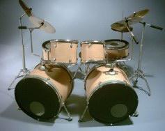 Mini Drum kit – Double Bass (natural-black)