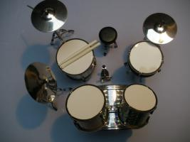 Foto 2 Mini Drum kit – Metallica - Silver Skin