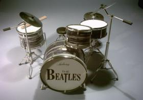 Mini Drum kit Beatles