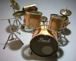 Mini Drum kit Pearl - Naturel