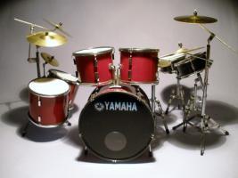 Mini Drum kit Yamaha (dunkel-rot)