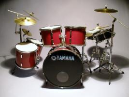 Mini Drum kit Yamaha (dunkel-rot)