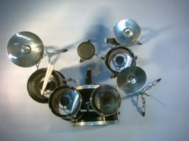 Foto 2 Mini Drum kit - Kiss
