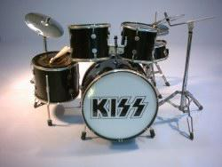 Mini Drum kit - Kiss