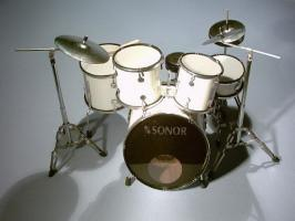 Mini Drum kit  - Sonor (white)
