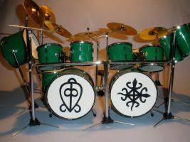 Mini Drum kit - ToTo - Simon Phillips