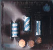 Foto 2 Mini Euro Kursmünzensatz Original San Marino '' 2006/1 '' ! !
