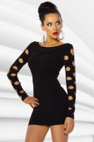 Mini-Kleid - CLEO - Black - Größe M - Neu & OVP