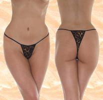 Mini String-Tanga - Leopard