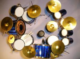 Foto 2 Miniatur Drum kit - The Police