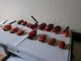 Miniatur Feuerwehr-und Rettungsfahrzeuge