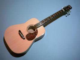 Miniaturgitarre – Acoustic Martin – Natural