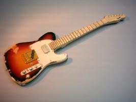 Miniaturgitarre – Andy Summers Tribute Telecaster Electric Guitar