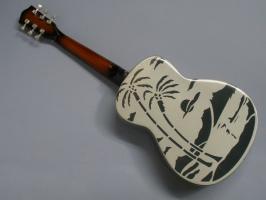 Foto 2 Miniaturgitarre – Dire Straits - Brothers-in-Arms Guitar
