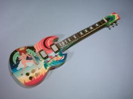 Miniaturgitarre – Eric Clapton - Eric Clapton 'Fool' Gibson SG