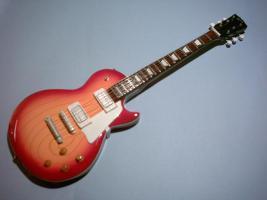 Miniaturgitarre – Gibson Les Paul Cherryburst