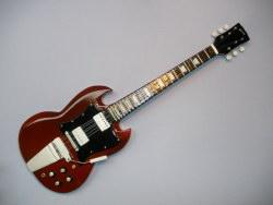 Miniaturgitarre – Gibson SG – AC/DC Angus Young
